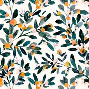 clementine sprigs-white