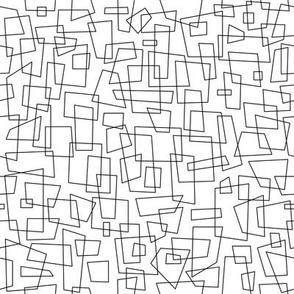 Squared - White & Black