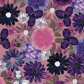 Moody Floral (Byzantium)