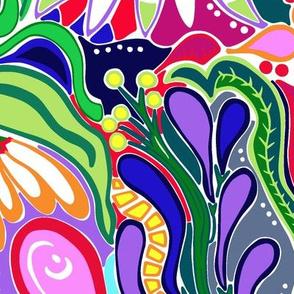 artist affirmation fabric coordinate