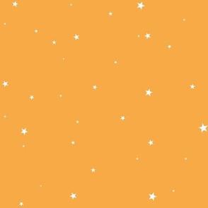 woollypetals starry eyed sherbert orange
