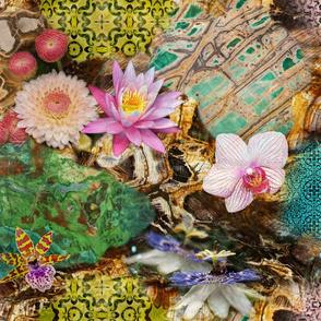 Maximalist Floral Texture