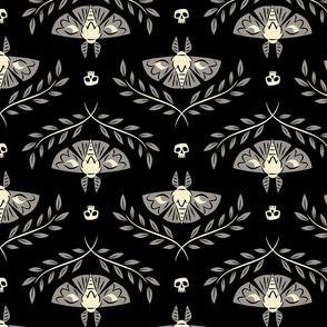 Spooky Moths (Black)