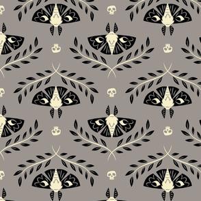 Spooky Moths (Gray)