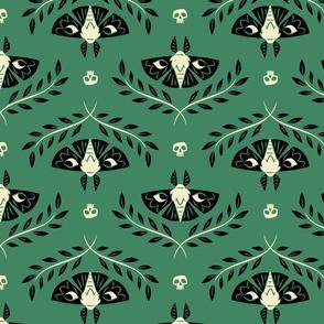 Spooky Moths (Green)