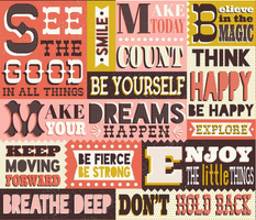 You Inspire Me - Inspirational Quotes Large Scale