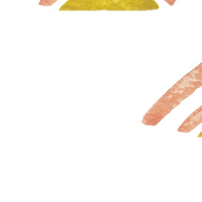 Pink and Yellow Abstract Triangles