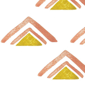 colorful triangles quad PNG