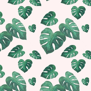 Monstera Leaf Party