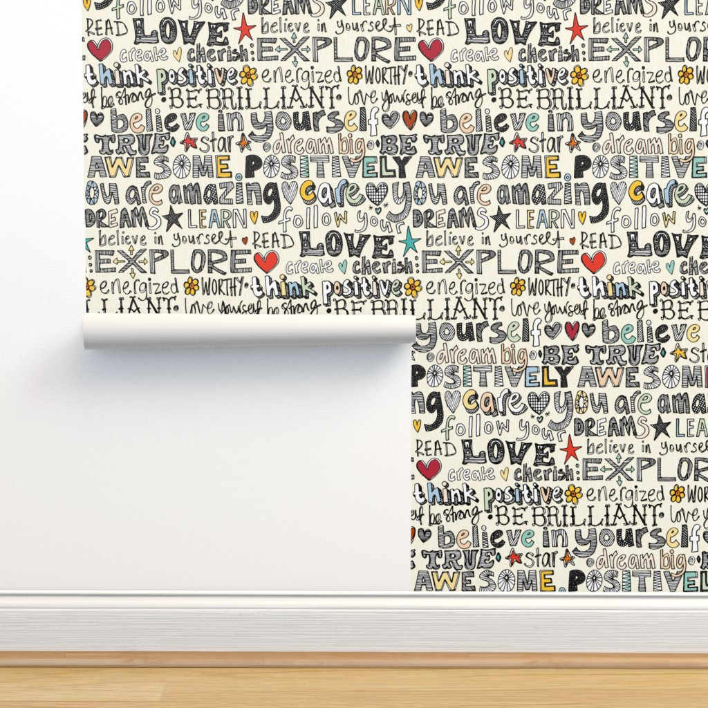 Isobar Durable Wallpaper featuring positively awesome by scrummy
