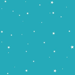 woollypetals starry eyed teal