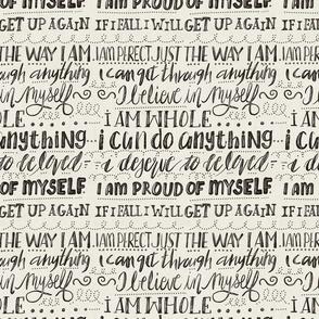I can-I will-I am