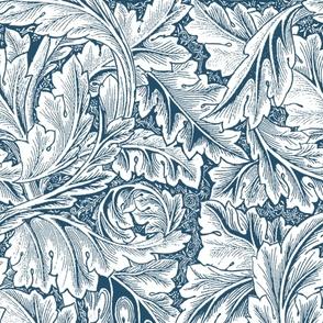 William Morris ~ Acanthus  ~ Blue and White