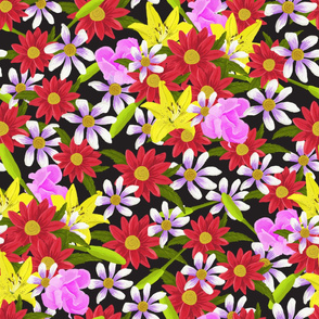 Painted Floral Maximalist