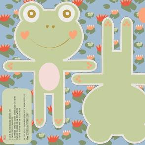 Sweet Froggy Plush