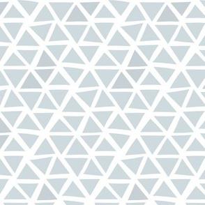 Triangle mosaic - grey