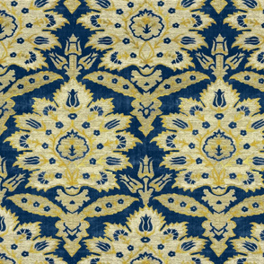 Ottoman velvet