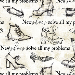 sketchy shoes and quote
