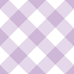 Checkered gingham in purple