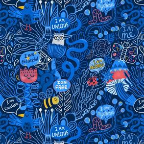 Yes I am! Affirmations design ( Anna Alekseeva).