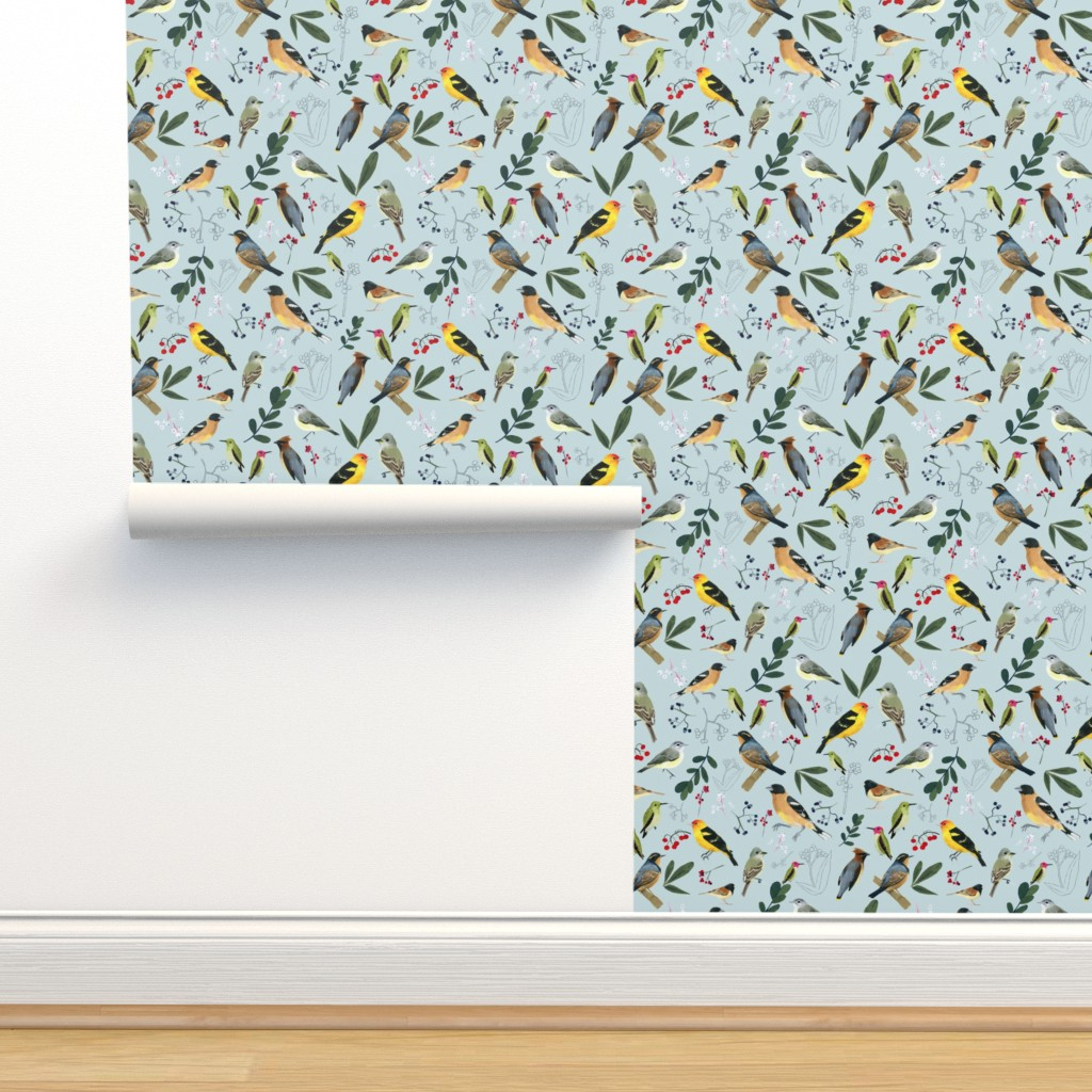 Isobar Durable Wallpaper featuring West Coast Spring by tarakatedesigns