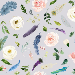 Heavenly Feathers // Mischka Lavender