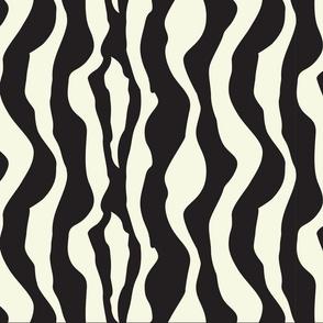 Black White Zebra Print Pattern