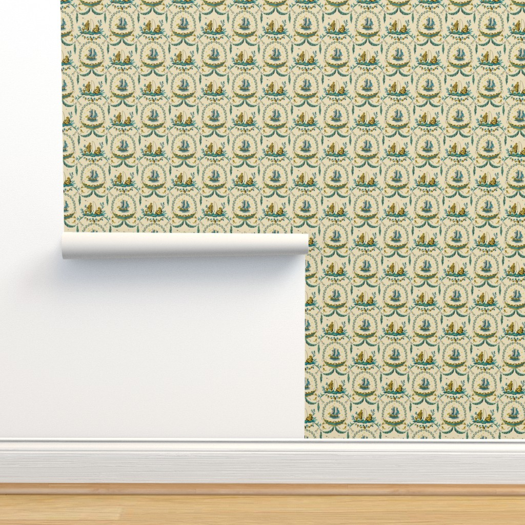 Isobar Durable Wallpaper featuring Paix sur les Mers 1c by muhlenkott