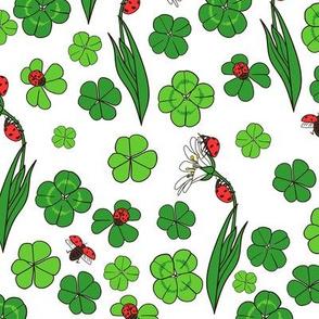 Lady Bugs // Lucky Clover // Garden