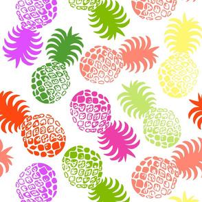 Hawaiian Tropical Pineapple - Living Coral Multi