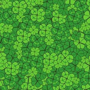 Lucky Four Leaf Clover // St Patricks Day