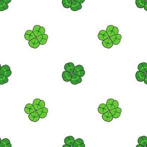Four Leaf Clover // Polka Dots