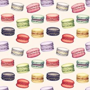 Retro Parisian Macaron Party