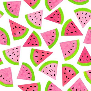 Watermelons // Watercolor Melons