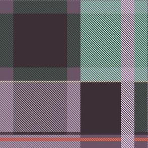 Colorful tartan | 02 – purple