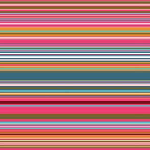Colorful stripes |  06 – pink orange