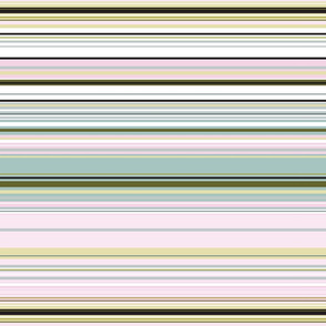 Colorful stripes |  10 – baby pink blue and olive