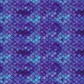 (micro scale) dragon scales - purple C19BS