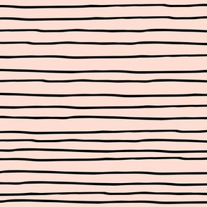 Minimal strokes  irregular stripes abstract lines geometric summer peach black