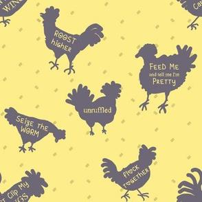 Chicken Wisdom | Bee Dance