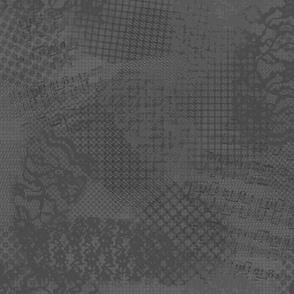 Dark Gray lace