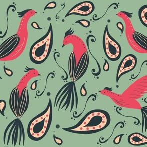paradise birdie paisley