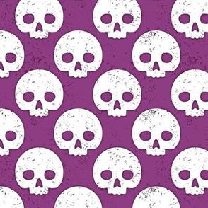 Skull Dot Plum