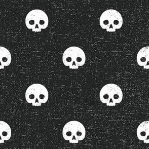 Skull Dots Coal