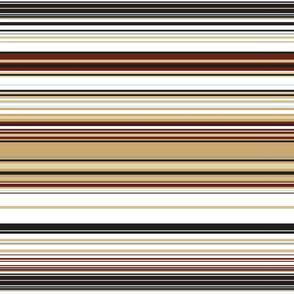Colorful stripes |  14 – brown beige black