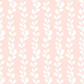 Floral silhouette pink reverse