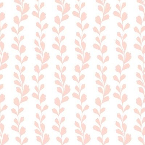 Floral silhouette pink