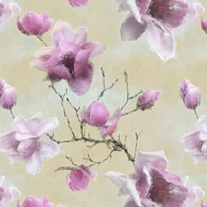 Gentle giant magnolia - gorgeous pinky floral blooms