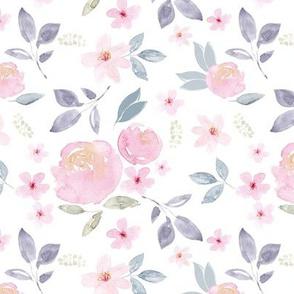 Cherry Blossom Rose Florals Vintage MEDIUM
