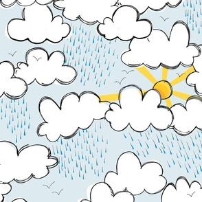 Those sunny rainy days